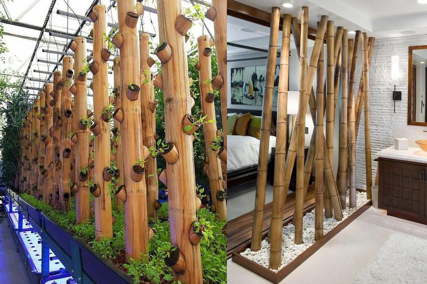 11 Ideas Para Decorar La Casa Con Bambu De Manera Exitosa - Decoracion-bambu