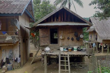 Aldea Huay Sand, cerca de Muang Ngoi