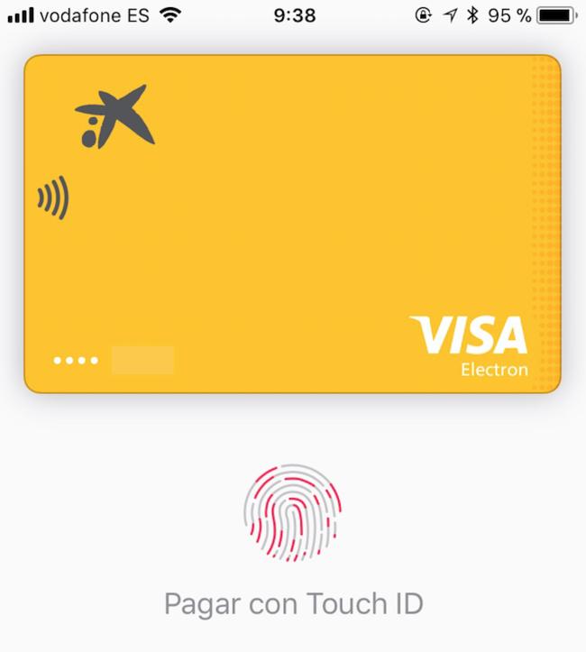Caixabank Apple Pay