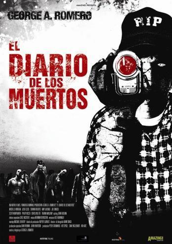 Póster de 'El Diario de los Muertos' de George A. Romero