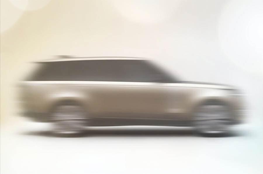 El nuevo Range Rover 2022 asoma la patita a pocos días de su presentación oficial