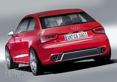 Audi S1, primeras recreaciones