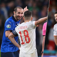 Chiellini le comió la tostada a Jordi Alba en la tanda de penaltis. ABBAABBAAB lo habría evitado