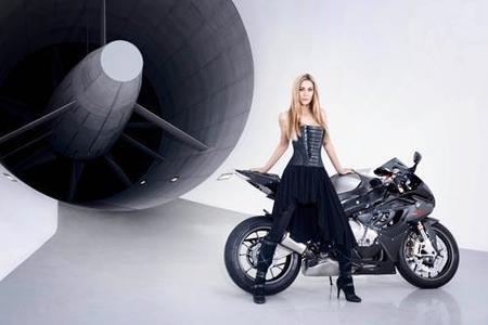 Leslie Porterfiel y la BMW S1000RR