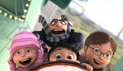 'Gru, mi villano favorito', mecánico entretenimiento infantil