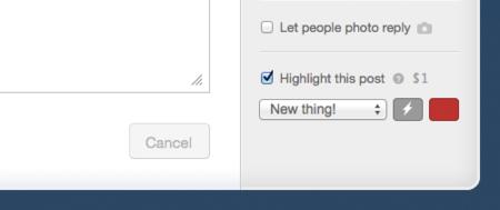 Tumblr te deja destacar tus posts a cambio de un dólar