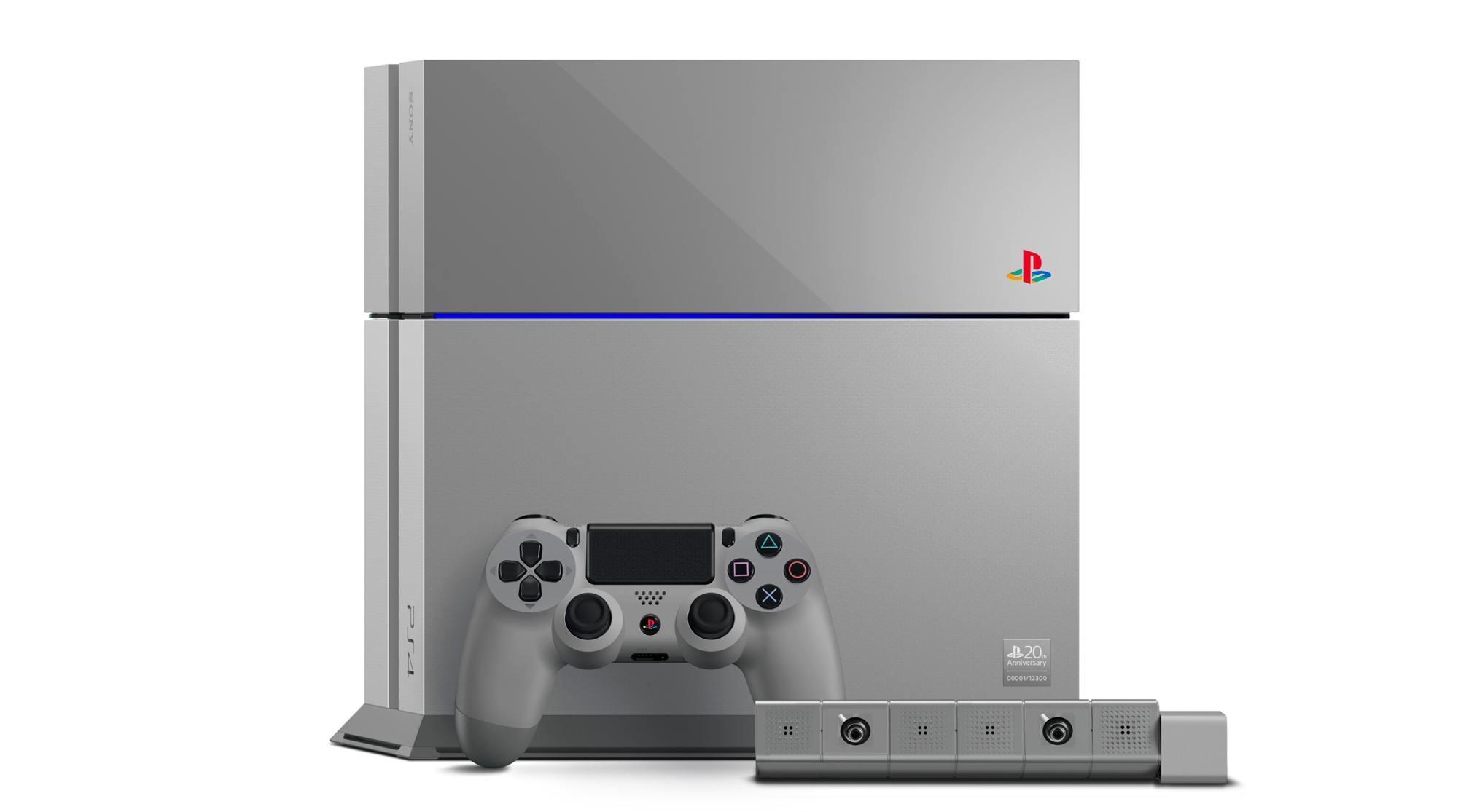 Foto de PlayStation 4 Edición Limitada 20 Aniversario (1/6)