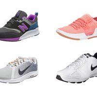 Chollos en tallas sueltas de zapatillas New Balance, Under Armour y  Nike  en Amazon desde 25 euros