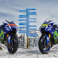 El Movistar Yamaha MotoGP también se apunta a las presentaciones invernales, pero sin pilotos