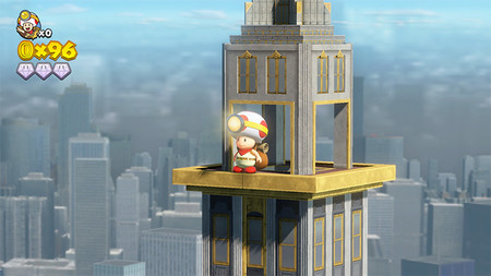 Nuevo gameplay de Captain Toad: Treasure Tracker  con brevísima visita a New Donk City incluida
