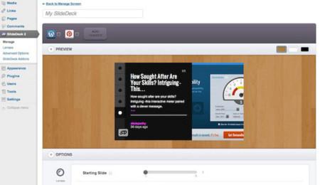 SlideDeck permite añadir nuestra propia presentación de diapositivas en WordPress