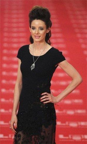 El look de Pilar López de Ayala en la gala de los Goya 2011