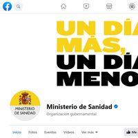 Facebook elimina las interacciones fraudulentas de la página del Ministerio de Sanidad