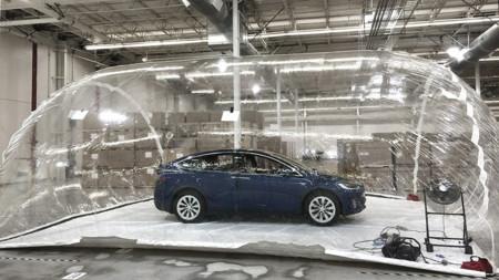 ¿Sabías que el Tesla Model X tiene un
