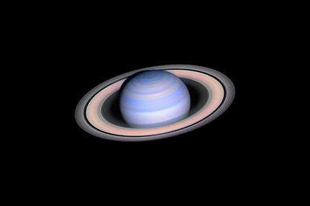Infrared Saturn C Laszlo Francsics