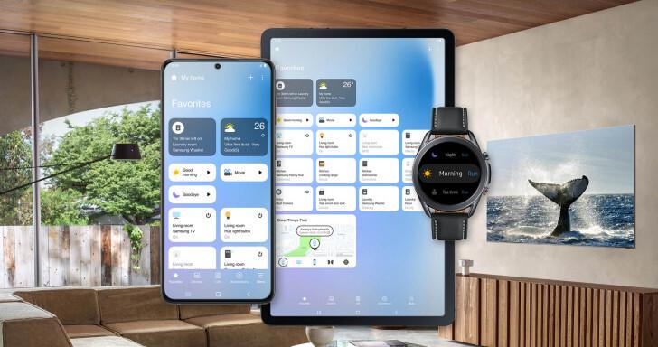 Samsung actualiza SmartThings un gran rediseño y nuevas funciones