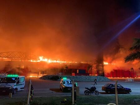 Termas De Rio Hondo Incendio Motogp