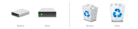 Windows 10 Actulizacion Nuevos Iconos Papelera Reciclaje Mi Pc