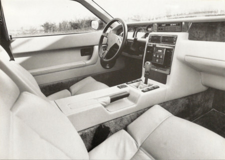 Venturi 200 Coupe Cup221 interior