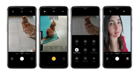 Oneplus 7 Interfaz App Camara