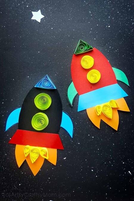 27 Manualidades Inspiradas En El Espacio Las Estrellas Y El Universo Para Hacer Con Los Niños