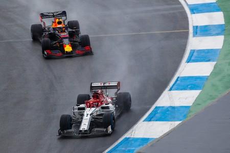 Raikkonen Verstappen Alemania F1 2019