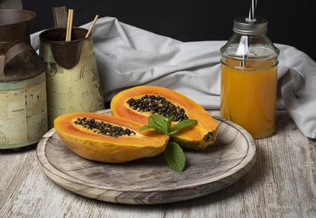 Frutas Temporada Puedes Disfrutar Septiembre Saludable Papaya