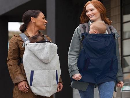 Protector para llevar al bebé calentito en el portabebé