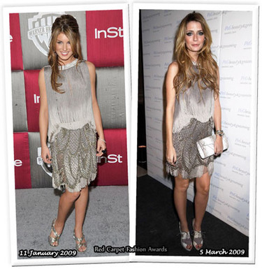 Vestido de Alberta Ferretti: ¿Shenae o Mischa?