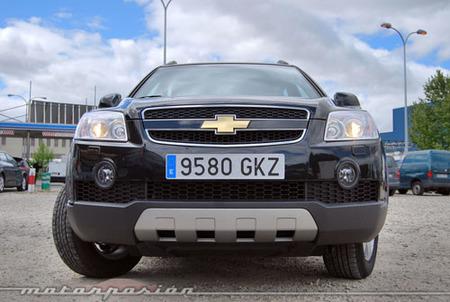 Chevrolet Captiva 2.4 GLP, miniprueba