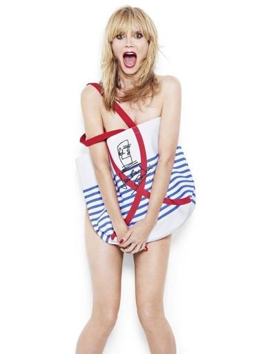 Heidi Klum en pelotilla picada por una buena causa