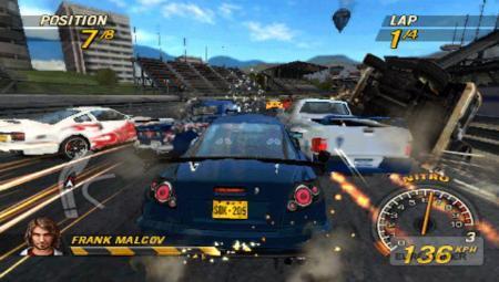 La demo de 'FlatOut: Head On' de PSP llegará el 22 de febrero