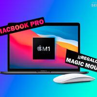 El MacBook Pro M1 está en MediaMarkt por 1.169 euros con el ratón Bluetooth Magic Mouse 2 de regalo, un chollo de productividad