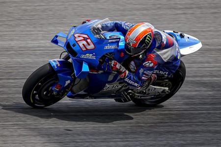 Suzuki va a por todas en MotoGP: Álex Rins lidera por delante de Joan Mir el primer día de test en Catar