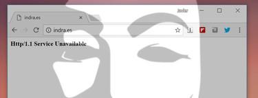 La web de Indra caída tras un ciberataque de Anonymous, el recuento de votos en el 21-D no peligra