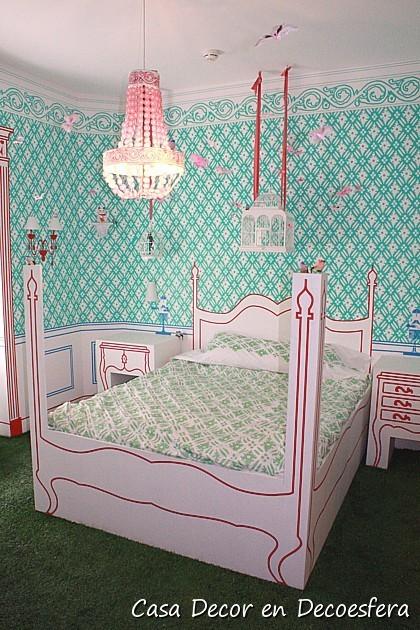 Casa Decor Madrid 2009. La habitación de la pequeña Cécil