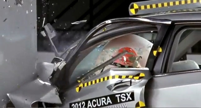 Acura TSX nuevo IIHS