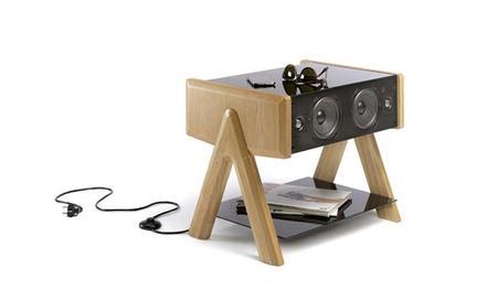 LD Cube, la mesa con bocinas integradas