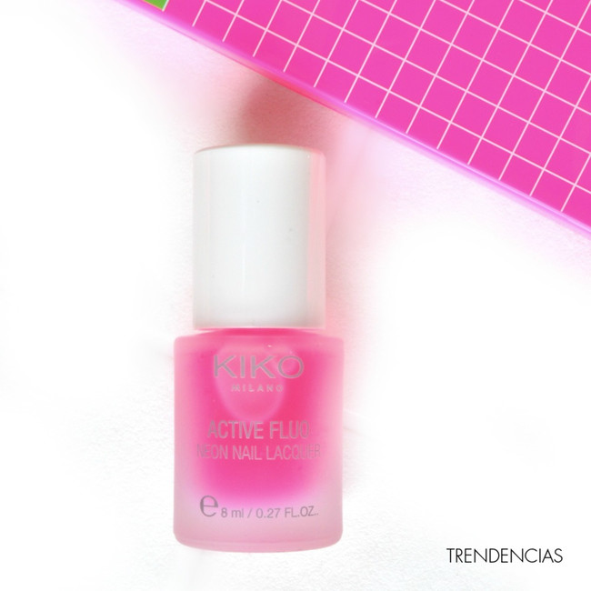 Active Fluo Neon Nail Lacquer Kiko Opinion