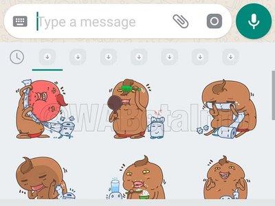 WhatsApp permitirá que diseñemos nuestros propios stickers