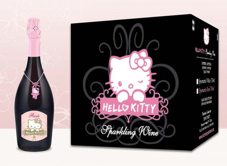 Hello Kitty Wines Rose Collection