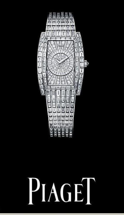 Piaget Limelight, relojería de lujo en talla diamante y baguette