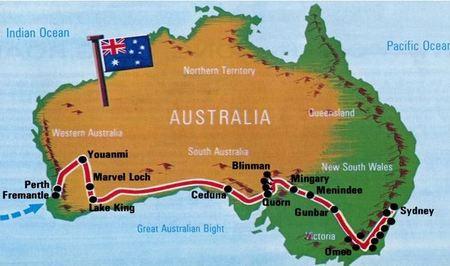 Etapa australiana