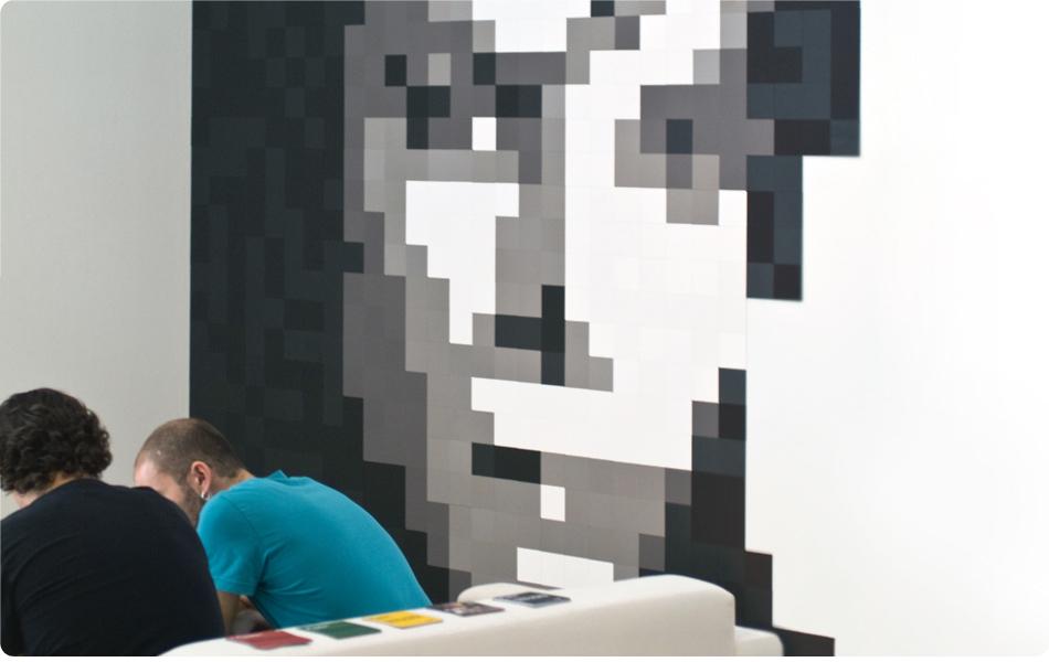 Foto de Feria Hábitat Valencia 2010: haz de tu pared un cuadro con Pixels XL (1/7)