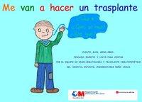"""""""Me van a hacer un trasplante"""", cuento para niños que van a ser intervenidos"""