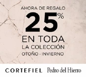 Hasta el 13 de octubre, Cortefiel oferta a sus socios un 25 % de descuento