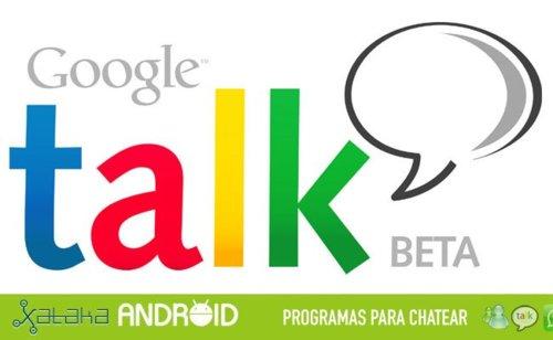 Especialprogramasparachatear:GoogleTalk