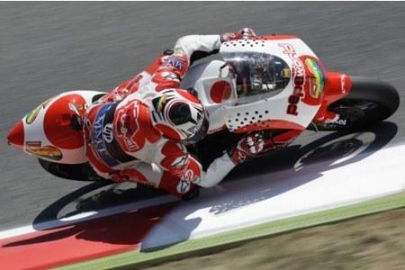 Héctor Barberá a MotoGP en 2010. ¿Cómo dice?