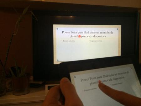PowerPoint y AirPlay
