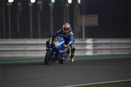 Alex Rins Motogp Test Catar 2018